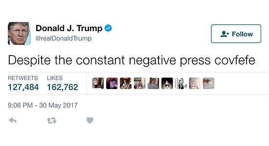 Donald Trump Covfefe